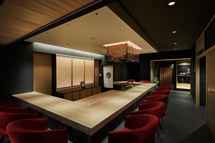 天ぷら料理 花歩 神戸 カウンター